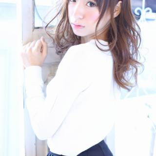 モード コンサバ 秋 モテ髪 ヘアスタイルや髪型の写真・画像