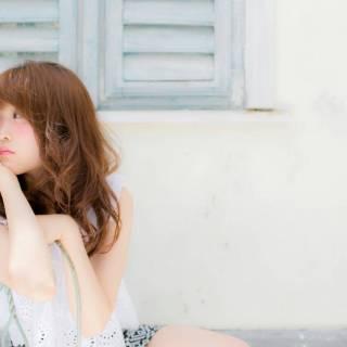 フェミニン ナチュラル 卵型 ゆるふわ ヘアスタイルや髪型の写真・画像