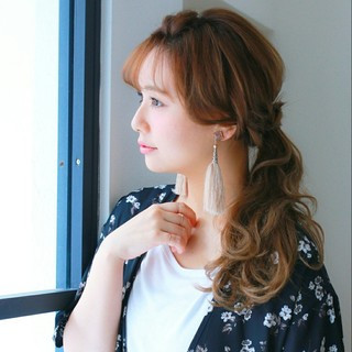 簡単ヘアアレンジ ヘアアレンジ ショート 大人かわいい ヘアスタイルや髪型の写真・画像