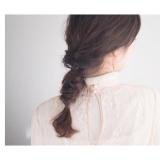 ナチュラル ヘアアレンジ モード 簡単ヘアアレンジ ヘアスタイルや髪型の写真・画像 ヘアスタイルや髪型の写真・画像