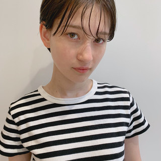 ハンサムショート 大人女子 大人ショート ナチュラル ヘアスタイルや髪型の写真・画像