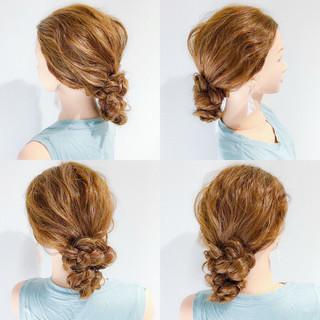オフィス ロング ヘアアレンジ エレガント ヘアスタイルや髪型の写真・画像