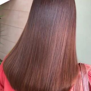 髪質改善 ロング 最新トリートメント 髪質改善トリートメント ヘアスタイルや髪型の写真・画像