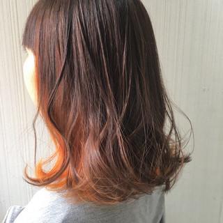 ミディアム ストリート 冬 秋 ヘアスタイルや髪型の写真・画像