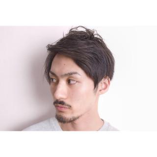 モード ショート モテ髪 黒髪 ヘアスタイルや髪型の写真・画像