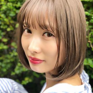 簡単ヘアアレンジ オフィス 抜け感 前髪あり ヘアスタイルや髪型の写真・画像