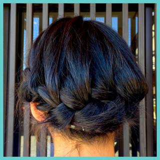ショート ヘアアレンジ ゆるふわ セミロング ヘアスタイルや髪型の写真・画像