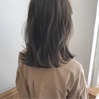 ハイライト ボブ ロブ 秋 ヘアスタイルや髪型の写真・画像