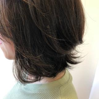 ナチュラル イルミナカラー ハイライト 透明感 ヘアスタイルや髪型の写真・画像