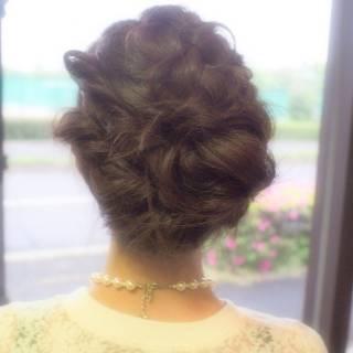 簡単ヘアアレンジ ヘアアレンジ ナチュラル 簡単 ヘアスタイルや髪型の写真・画像