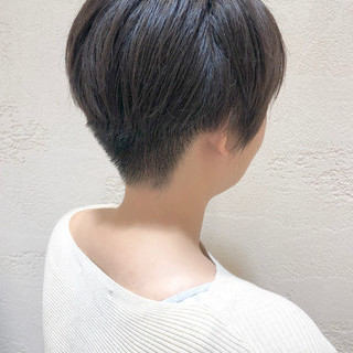 ベリーショート 大人ショート ショート 小顔ショート ヘアスタイルや髪型の写真・画像