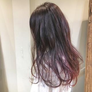 ピンク ガーリー デート ベリーピンク ヘアスタイルや髪型の写真・画像