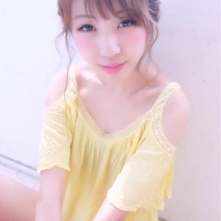 大人かわいい ショート モテ髪 簡単ヘアアレンジ ヘアスタイルや髪型の写真・画像