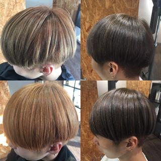 ショート ショートヘア ストリート ベリーショート ヘアスタイルや髪型の写真・画像