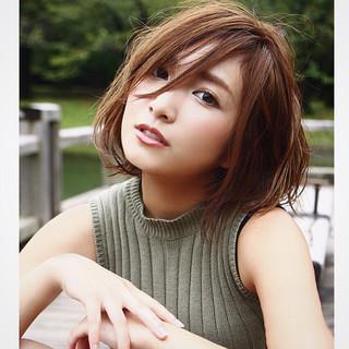 モード 大人女子 外国人風 色気 ヘアスタイルや髪型の写真・画像