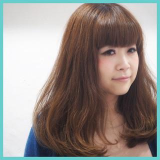 ゆるふわ 艶髪 フェミニン ガーリー ヘアスタイルや髪型の写真・画像