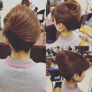 セミロング エレガント 簡単 ヘアアレンジ ヘアスタイルや髪型の写真・画像 ヘアスタイルや髪型の写真・画像