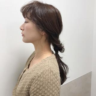 ロング 福岡市 フェミニン ヘアアレンジ ヘアスタイルや髪型の写真・画像