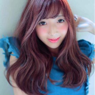 スウィート 愛され かわいい ピンク ヘアスタイルや髪型の写真・画像 ヘアスタイルや髪型の写真・画像