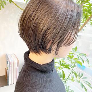 ショートヘア 大人かわいい ベリーショート ショート ヘアスタイルや髪型の写真・画像