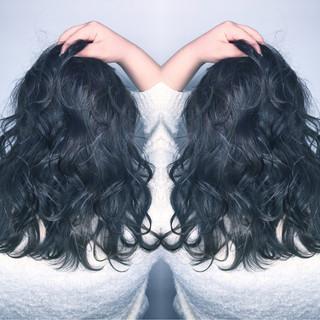 パーマ グラデーションカラー グレージュ ハイライト ヘアスタイルや髪型の写真・画像 ヘアスタイルや髪型の写真・画像