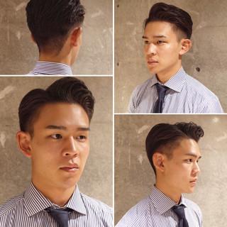 メンズヘア メンズパーマ 刈り上げ コンサバ ヘアスタイルや髪型の写真・画像