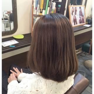 アッシュ グラデーションカラー 暗髪 グレーアッシュ ヘアスタイルや髪型の写真・画像
