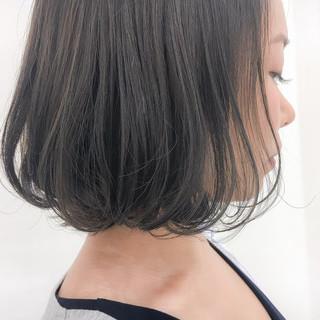 暗髪 ヌーディーベージュ ナチュラル 秋 ヘアスタイルや髪型の写真・画像