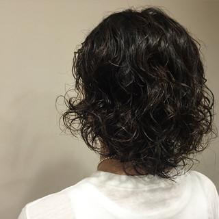 大人女子 メンズ ミディアム ストリート ヘアスタイルや髪型の写真・画像