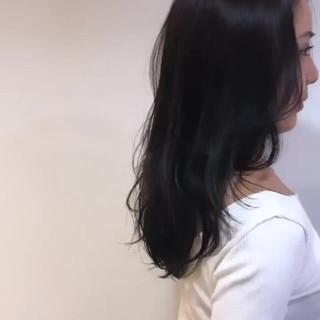 ナチュラル セミロング ゆるふわセット ゆるウェーブ ヘアスタイルや髪型の写真・画像