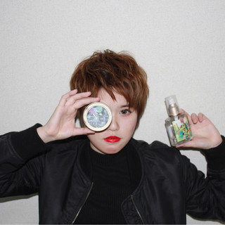ショート モード パーマ 外国人風 ヘアスタイルや髪型の写真・画像