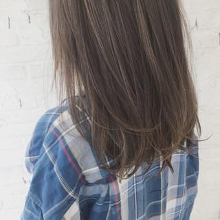 ハイライト ガーリー 透明感 抜け感 ヘアスタイルや髪型の写真・画像
