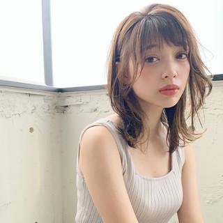 デジタルパーマ ひし形シルエット 大人かわいい フェミニン ヘアスタイルや髪型の写真・画像