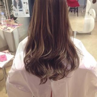 ロング 黒髪 モード アッシュ ヘアスタイルや髪型の写真・画像
