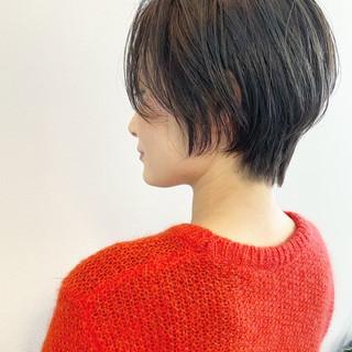 ナチュラル ベリーショート ミニボブ ショートヘア ヘアスタイルや髪型の写真・画像