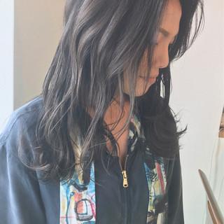 グラデーションカラー 透明感 秋 大人かわいい ヘアスタイルや髪型の写真・画像