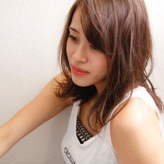 モテ髪 ウェーブ ストリート かっこいい ヘアスタイルや髪型の写真・画像 ヘアスタイルや髪型の写真・画像