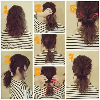 ゆるふわ ヘアアレンジ 外国人風 パーティ ヘアスタイルや髪型の写真・画像