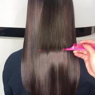 ナチュラル 髪質改善トリートメント プリンセストリートメント ロング ヘアスタイルや髪型の写真・画像