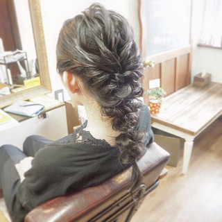 ナチュラル ヘアセット ヘアアレンジ ブライダル ヘアスタイルや髪型の写真・画像