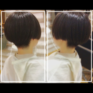 黒髪 オフィス 社会人の味方 ショート ヘアスタイルや髪型の写真・画像 ヘアスタイルや髪型の写真・画像