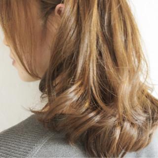 アッシュ 外国人風カラー 大人女子 グレージュ ヘアスタイルや髪型の写真・画像