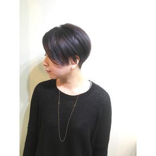 マッシュ 外国人風 ショート アッシュ ヘアスタイルや髪型の写真・画像