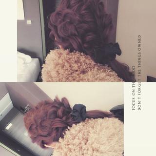 ヘアアレンジ ショート ミディアム 暗髪 ヘアスタイルや髪型の写真・画像