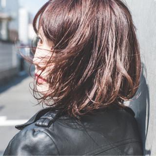 ナチュラル ボブ 暗髪 外国人風 ヘアスタイルや髪型の写真・画像 ヘアスタイルや髪型の写真・画像