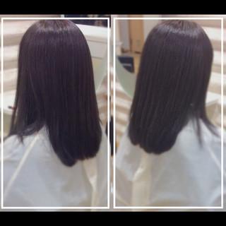 髪質改善トリートメント 大人ヘアスタイル ロング 艶髪 ヘアスタイルや髪型の写真・画像