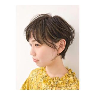 簡単ヘアアレンジ ヘアアレンジ ショート デート ヘアスタイルや髪型の写真・画像