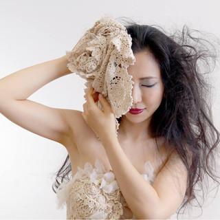 黒髪 モード ヘアアレンジ ロング ヘアスタイルや髪型の写真・画像 ヘアスタイルや髪型の写真・画像