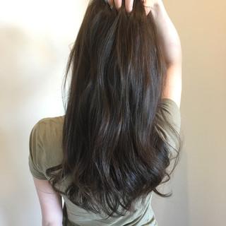 ロング 透明感 モテ髪 コンサバ ヘアスタイルや髪型の写真・画像