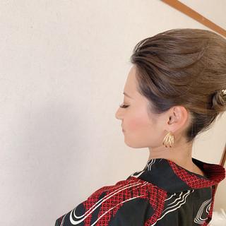 ヘアアレンジ 結婚式 ロング アップスタイル ヘアスタイルや髪型の写真・画像